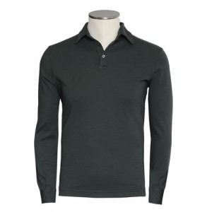 Zanone Polo Pima Cotton Olive