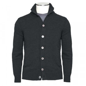 Zanone Chioto Cardigan Forest Green