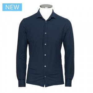 Zanone Ice Cotton Shirt Navy