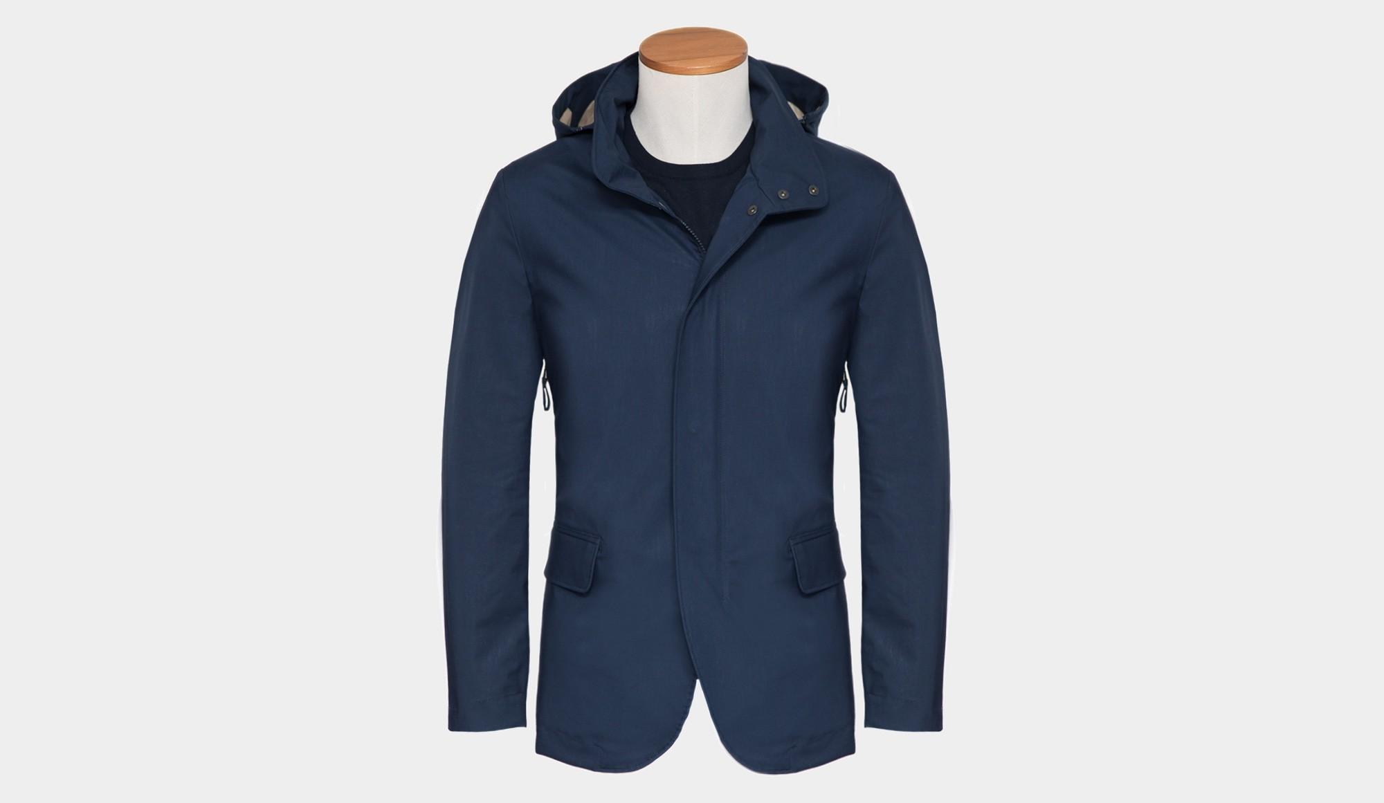 online retailer 6ccd0 00d44 Aspesi Coat Blue - Cipriani