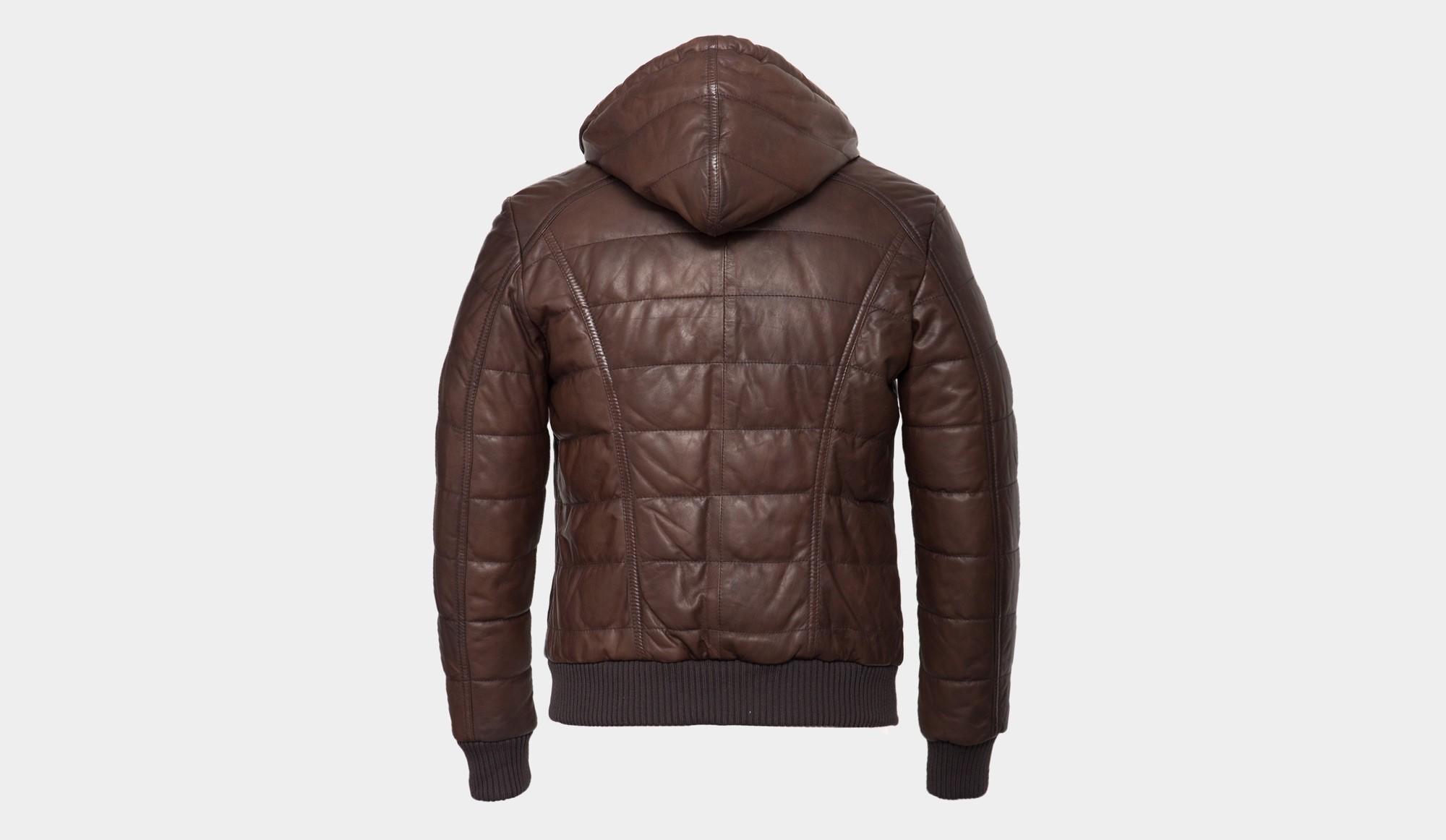 Bomber Barba Napoli Barba Napoli Leather Leather Yq5XXx