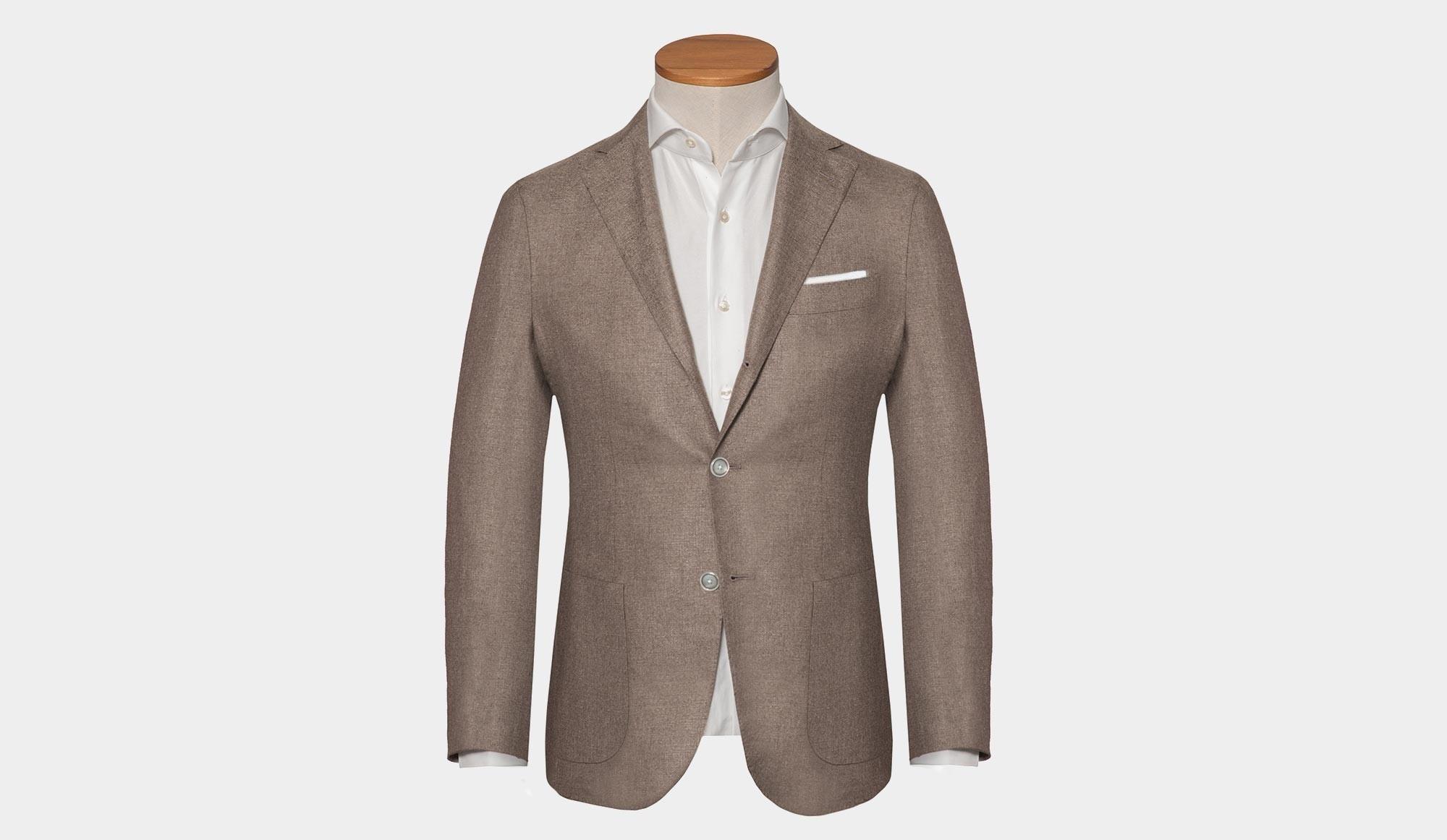 pretty nice f9273 2e06f Barba Napoli Cashmere Silk Jacket Taupe - Cipriani