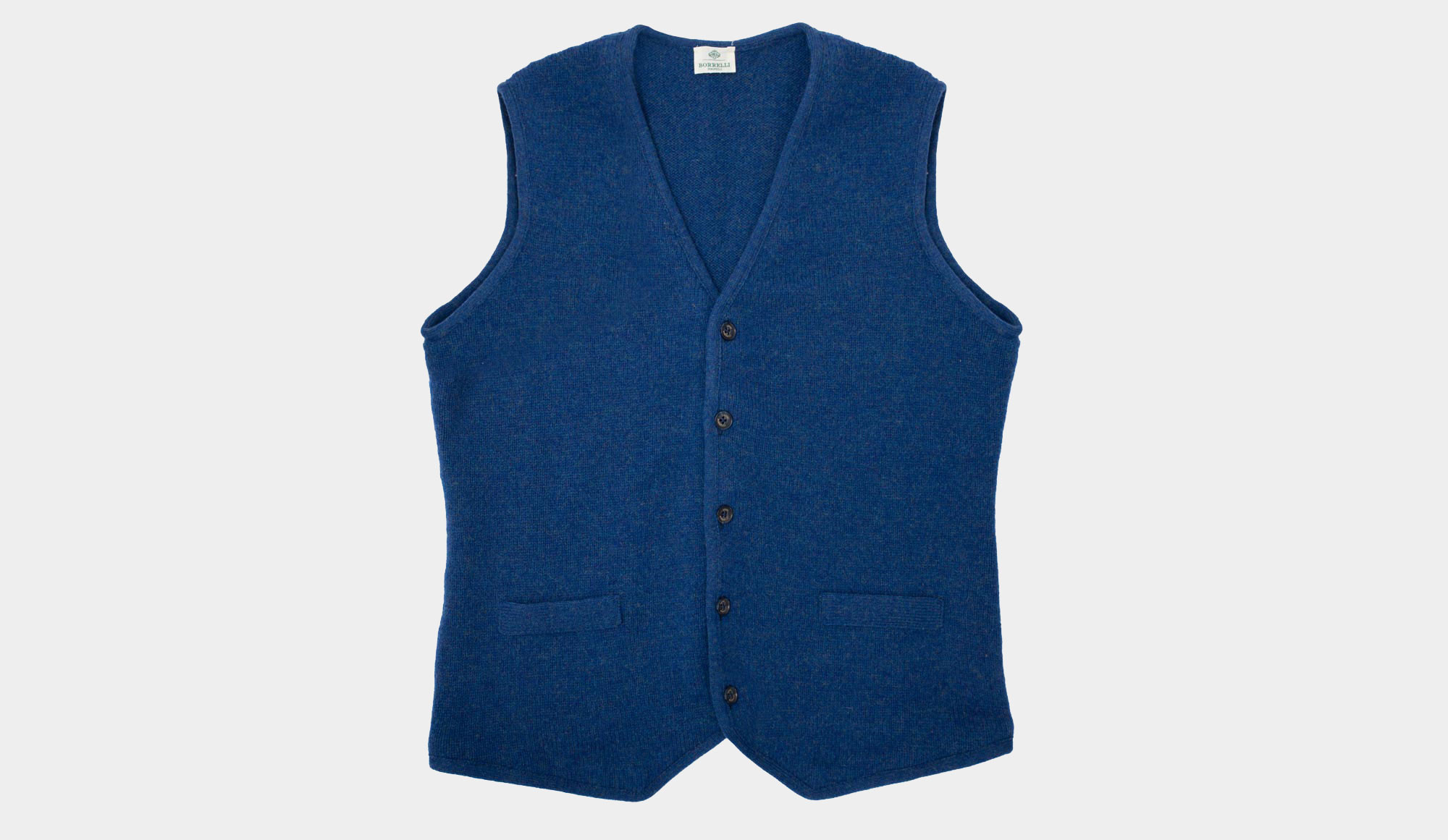 Luigi Borrelli New Blue Vest