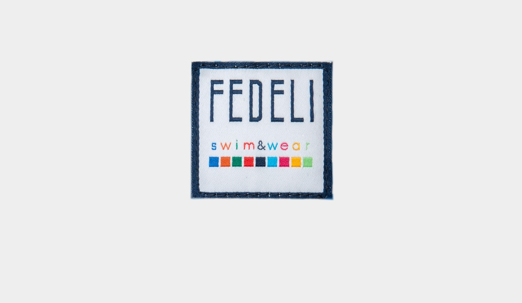 64a30f0a8dc18 Fedeli Swim Trunk Structured Denim - Cipriani