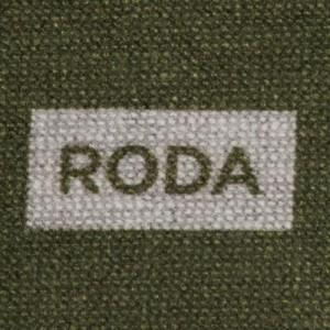 Roda Scarf Double-Face Silk Green