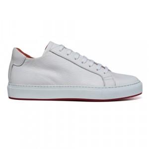 Andrea Ventura Sneaker Leather White