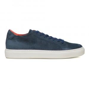 Andrea Ventura Blue Suede Sneaker
