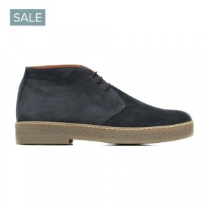 Andrea Ventura Lace-Up Boot Blue