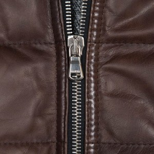 Barba Napoli Leather Bomber
