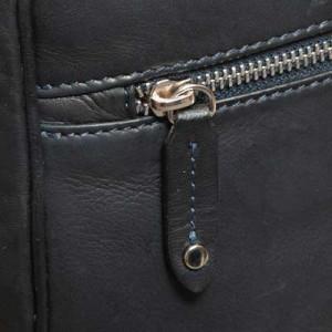 Barba Napoli Leather Weekender Blue