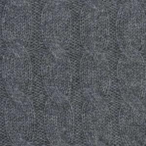 Barba Napoli Cable Crewneck Grey