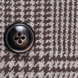 Barba Napoli Jacket Brown Check