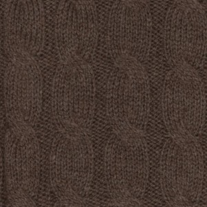 Barba Napoli Cable Crewneck Brown