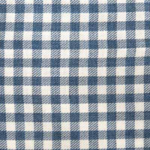 Barba Napoli Light Flannel Check Petrol