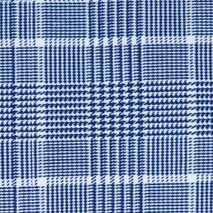Barba Napoli Check Blue