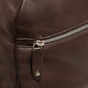 Barba Napoli Leather Weekender Brown
