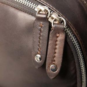 Barba Napoli Leather Backpack Brown