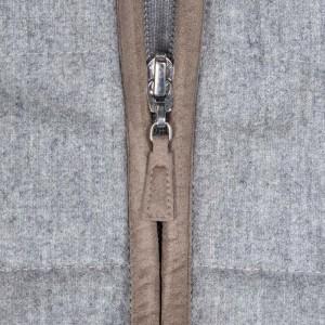 Barba Napoli Cardigan Flannel Grey
