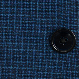 Luigi Bianchi Mantova Jacket Pied de Poule Blue