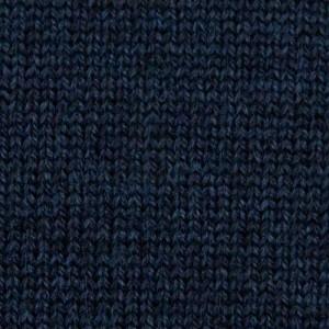 Gran Sasso Roll-Neck Extrafine Merinos Dark Blue Melange