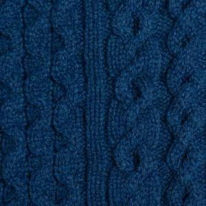 Drumohr Turtle Neck Aran Geelong Blue