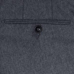 Drumohr Trousers Wool Grey