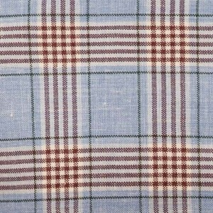 Fay Jacket Light Blue Check