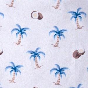 Fedeli Swim Trunk Palm White