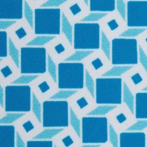 Fedeli Swim Trunk Escher Blue