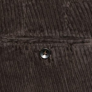Germano Trousers Washed Corduroy Brown