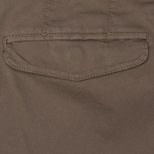 "Germano Cargo Trousers Cotton ""Cannettè"" Taupe"