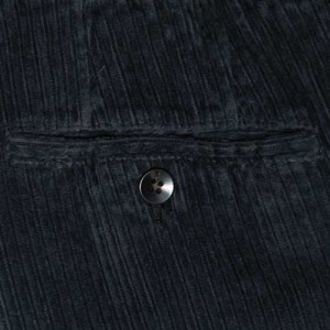 Germano Trousers Washed Corduroy Blue