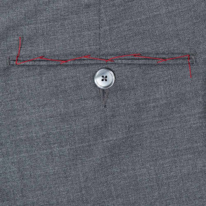 Germano Handmade Trousers Wool Grey