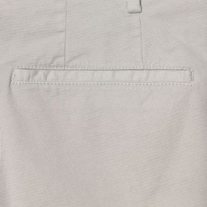 Germano Cotton Trousers Waffle Grey