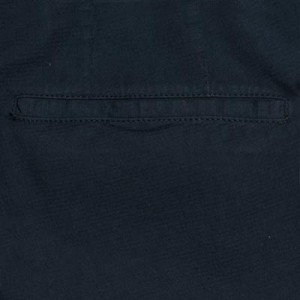 Germano Cotton Trousers Waffle Blue