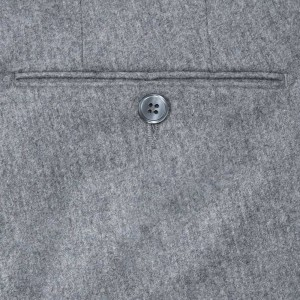 Germano Flannel Trousers Grey