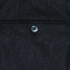 Germano Trousers Check Dark Blue