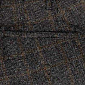 Germano Checked Flannel Cargo Pants