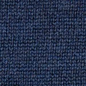 Gran Sasso Roll-Neck Extrafine Merinos Mid Blue Melange