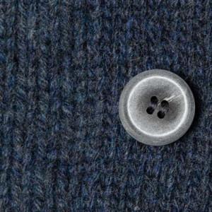 Gran Sasso Cardigan Geelong Blue-Grey