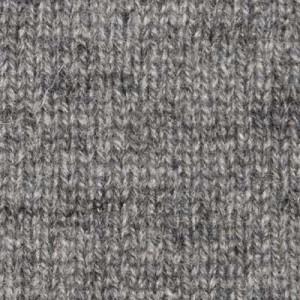 Gran Sasso Roll-Neck Grey Melange