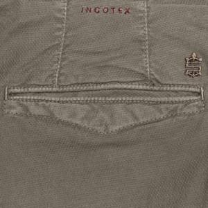 Incotex Slacks Fantasy Weave Taupe