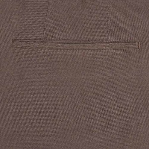 Incotex Ice Cotton Trousers Brown