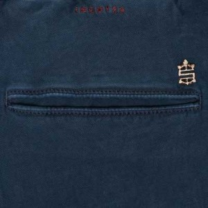 "Incotex ""Slacks"" Pleated Drawstring Blue"