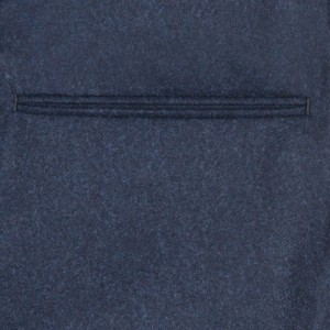 Incotex Flannel Trousers Blue