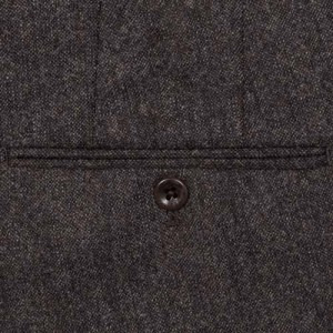 "Incotex Trousers ""Venezia"" Wool Brown"