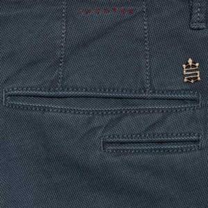 Incotex Slacks 'Pin Point' Blue