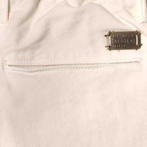 Incotex Slacks Pleated Drawstring Off-White