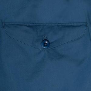 Incotex Bermuda Drawsting Blue