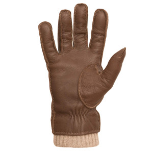 Mario Portolano Brown Deerskin Gloves